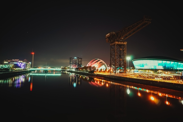Glasgow from the Clyde Arc
