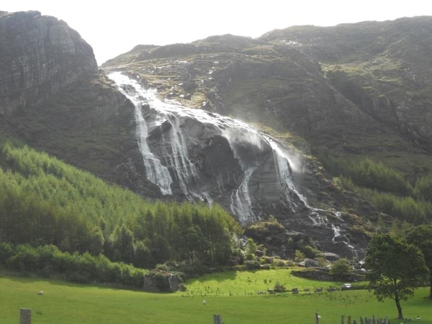 Waterfalls In The Ring Of Kerry