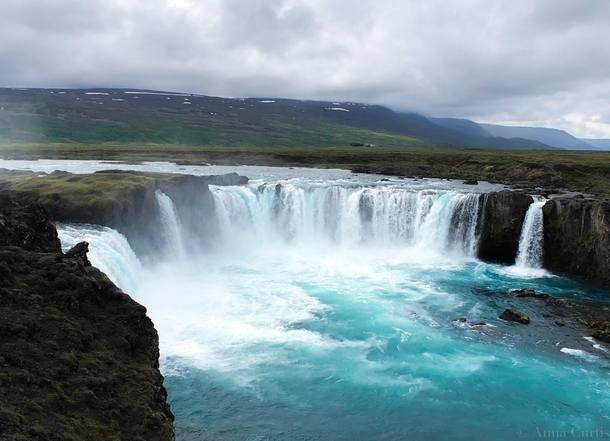 Goafoss Waterfall of the Gods Brardalur Iceland
