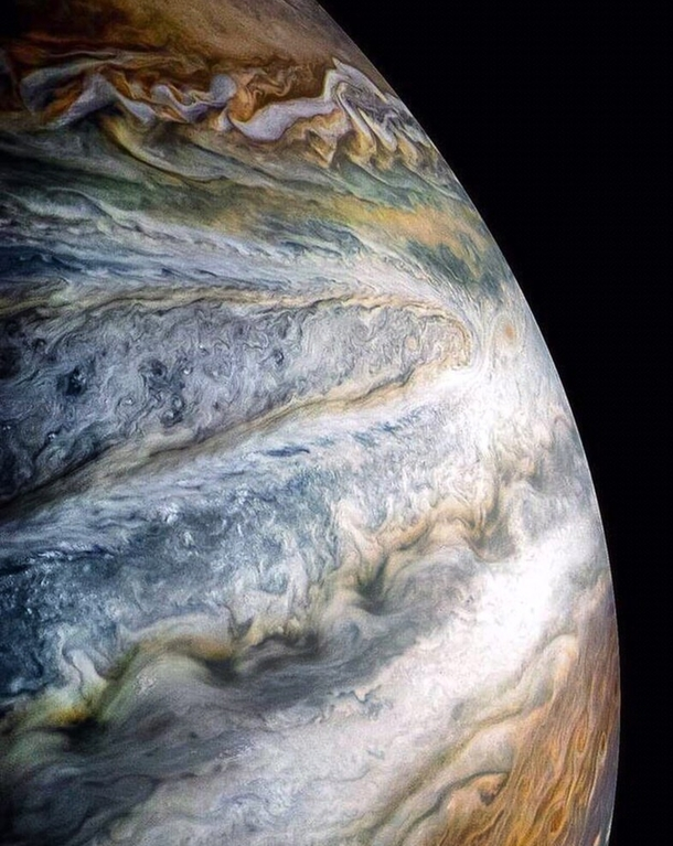 Gorgeously processed shot of Jupiter