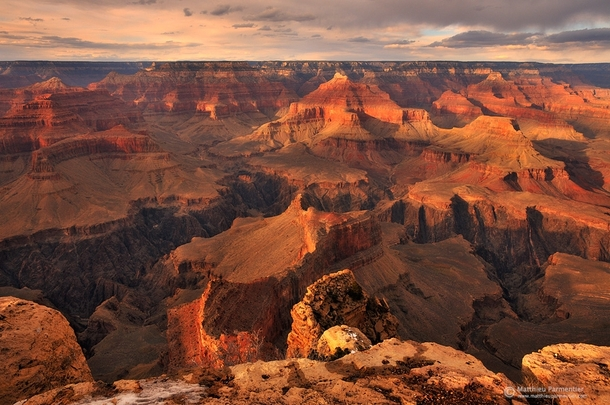 Grand Canyon  by Matthieu Parmentier