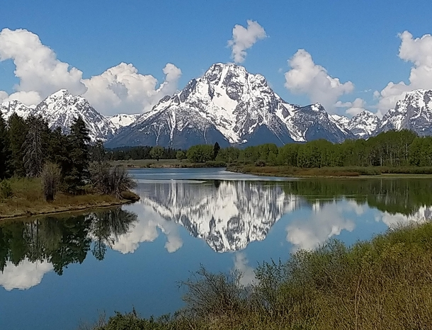 Grand Teton with reflection