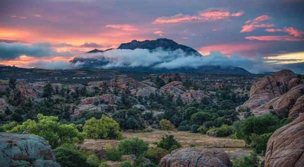 Granite Mountain In Prescott Arizona Photorator