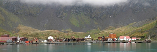 Grytviken Whaling Station on South Georgia Closed
