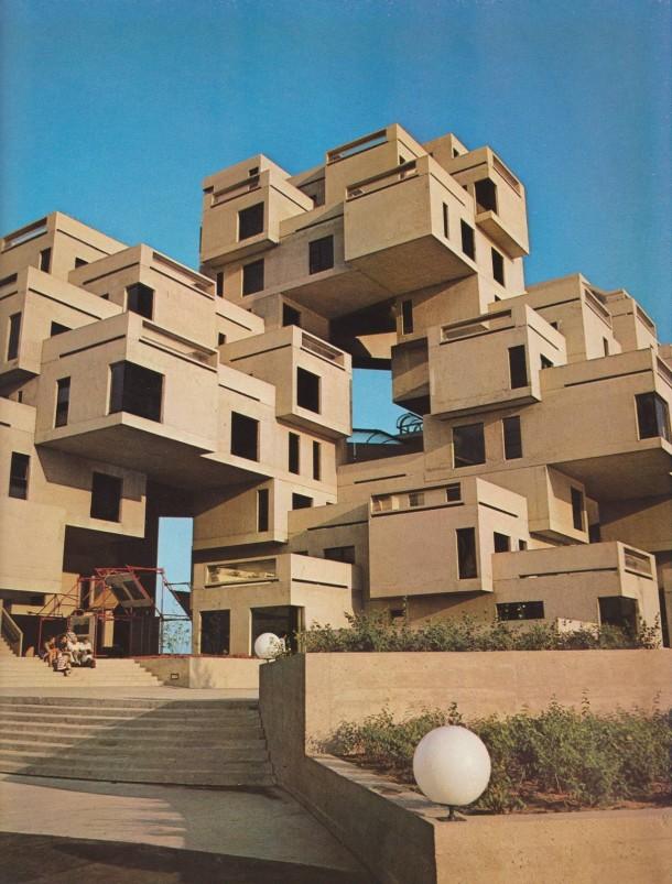 Habitat montreal quebec canada moshe safdie photorator for Architecture quebec