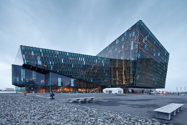 Harpa Concert Hall And Conference Centre Reykjavik Iceland