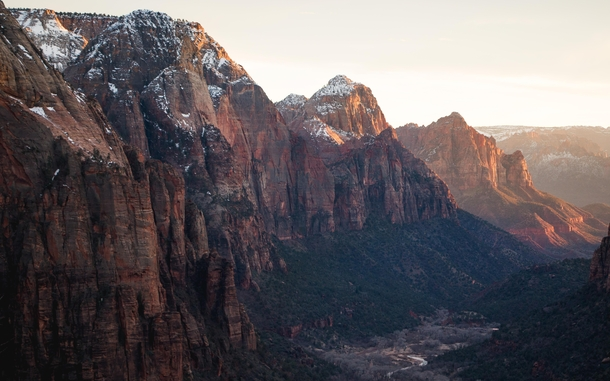 Heavenly views from Angels Landing Zion NP