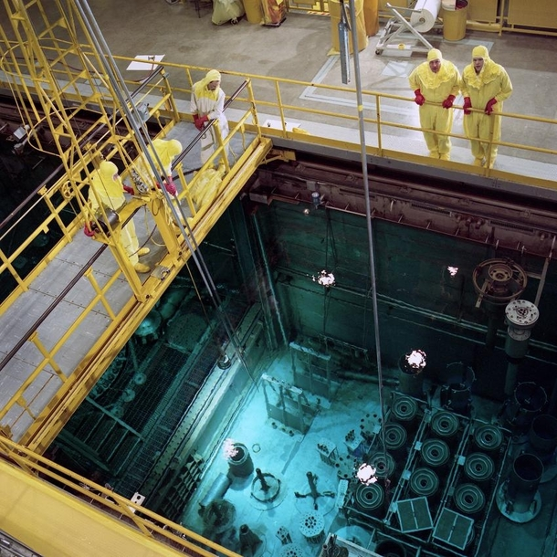 High Flux Isotope Reactor vessel at Oak Ridge National Laboratory