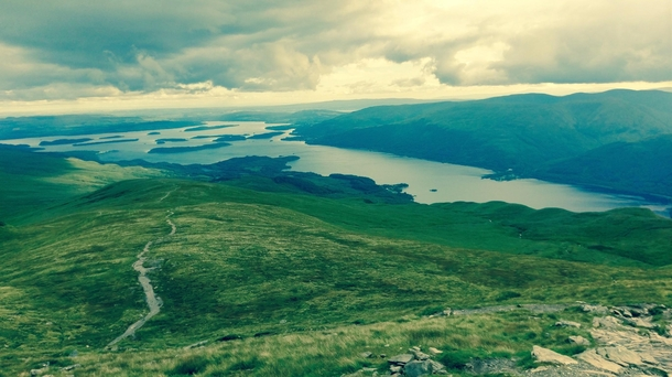 Hiked wonderful Ben Lomond in Scotland x