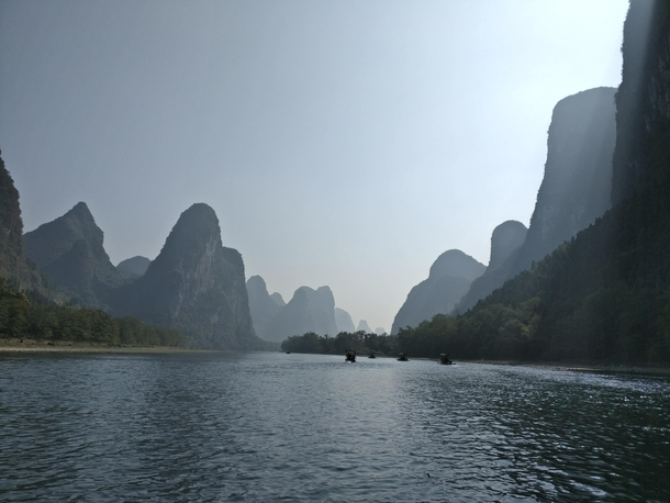 Hills in Guilin China