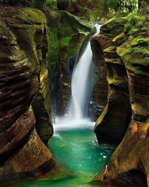 Hocking Hills State Park Ohio USA