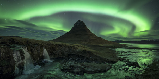 How is this a real place Kirkjufell mountain Iceland