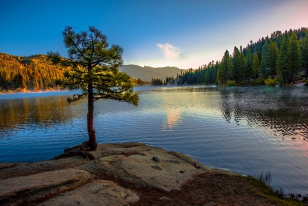 Hume Lake Sequoia National Forest of Fresno County California by Lou Lu