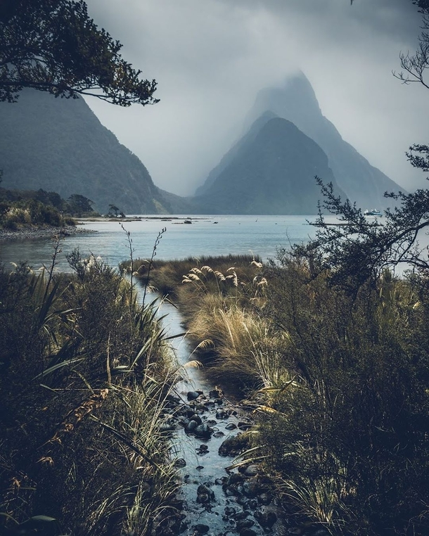 I can see why this place is so famous Milford Sound Fiordland