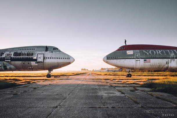 I found two abandoned Boeing s