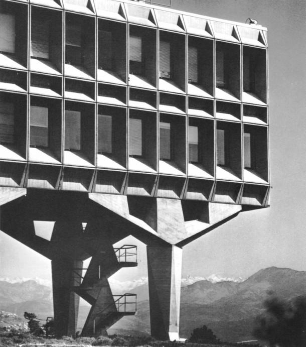 Ibm france research center la gaude france by marcel breuer amp associates - Marcel breuer architecture ...