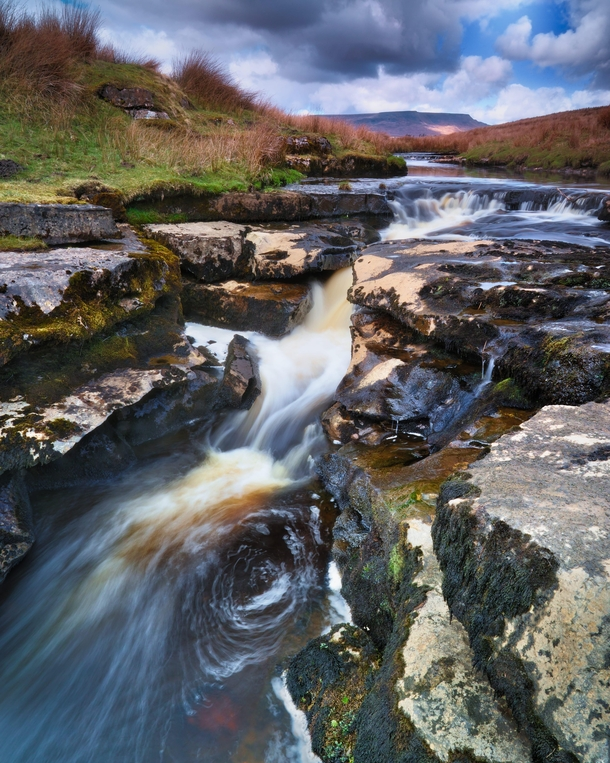 Ignore TLC and go chase some waterfalls Ure Force Mallerstang Yorkshire Dales England