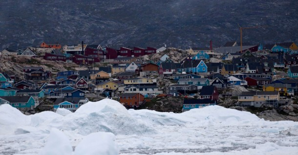 Ilulissat the third largest settlement in Greenland