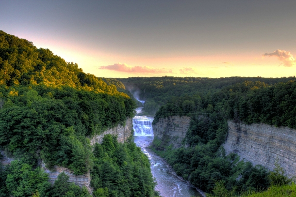 Inspiration Point Letchworth State Park New York