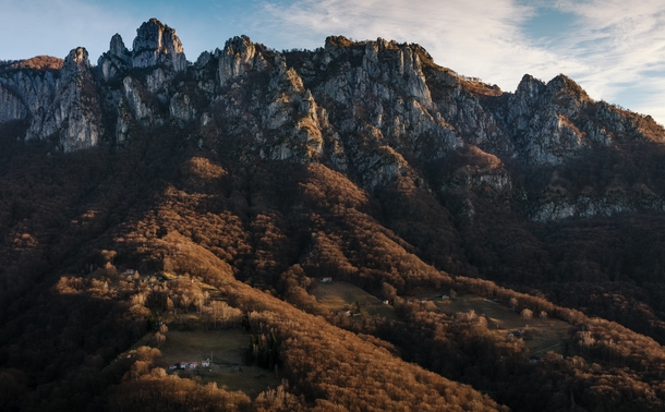 Ive never seen mountains like these before - the Denti della Vecchia literally teeth of the old woman Ticino Switzerland