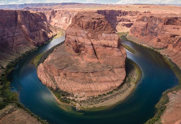 Just as breathtaking in person as it is in the pictures - Horseshoe Bend Arizona