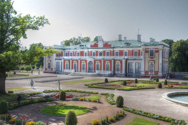 Kadriorg Palace Tallinn Estonia - Built for Catherine I of Russia by Peter the Great -  x