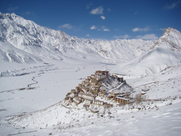Key Monastery  Spiti Valley  India