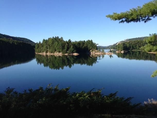 Killarney Lake Killarney Provincial Park Ontario Canada