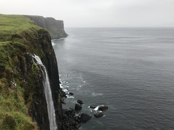 Kilt Rock waterfalls in the Isle of Skye Pretty amazing I thought