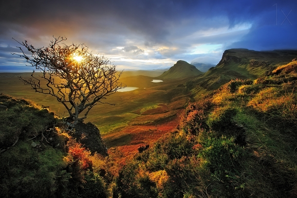 King of the Ring Isle of Skye Scotland  by Kah Kit Yoong