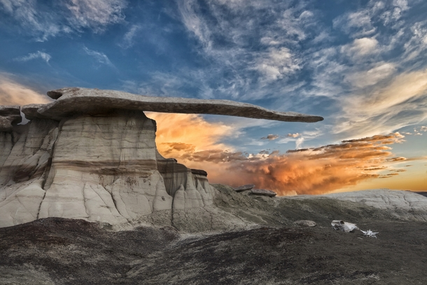King of Wings - It still stands San Juan Badlands USA by John Fowler