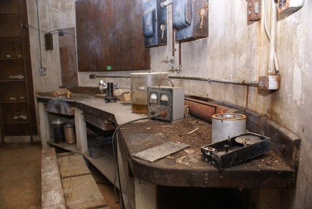 Laboratory in a derelict particle accelerator in Washington DC  source IC