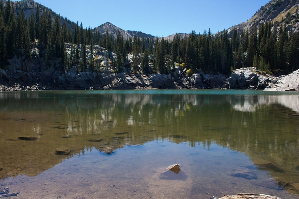 Lake Mary in Big Cottonwood Canyon in Utah