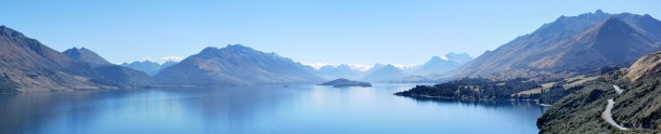 Lake Wakatipu New Zealand - Between Queenstown And Glenorchy