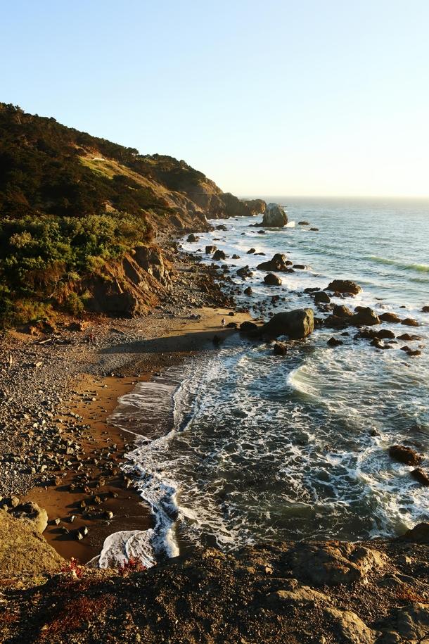 Lands End California at sunset - Photorator