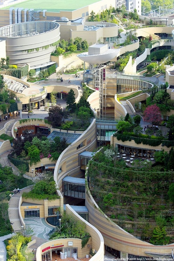 Landscape architecture and urban design in Osaka Japan