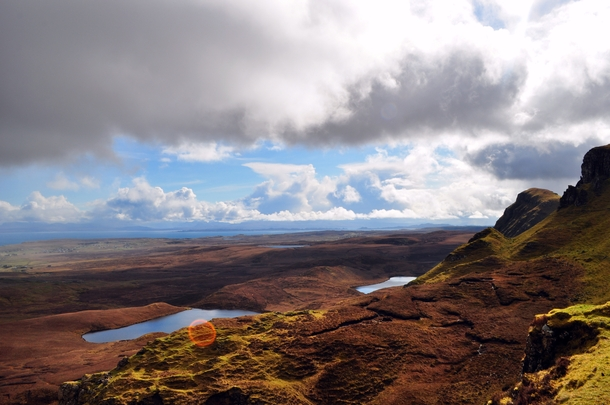 Literally the only  minutes of sunshine Quiraing Isle of Skye  x
