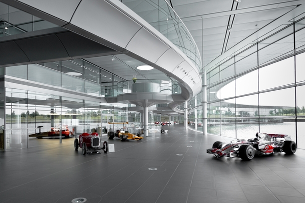 Lobby of the McLaren Technology Centre