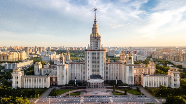 Lomonosov Moscow State University the most impressive of Stalins seven sisters x Picture by Alexander Smagin for unsplashcom