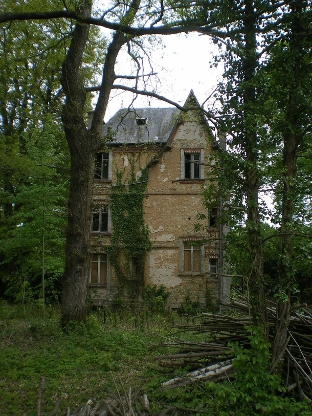 Lost In The Forest Abandoned Mansion In France