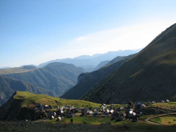 Lukomir the only remaining traditional semi-nomadic mountain village in Bosnia and Herzegovina