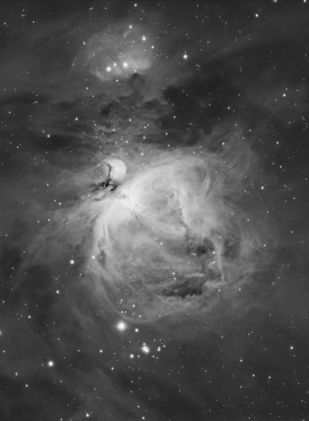 M - The Great Orion Nebula in Hydrogen Alpha