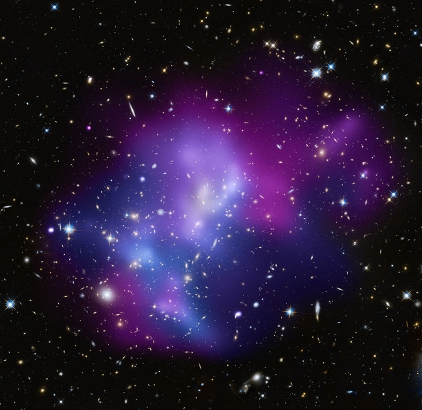 MACSJ Galaxy Cluster Chandra X-ray image - Photorator