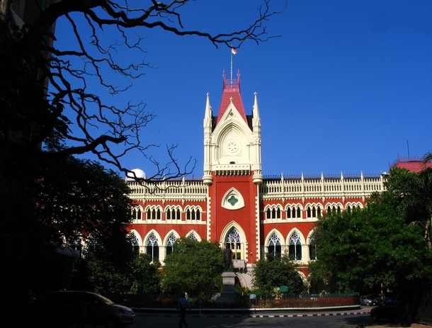 Main building of Calcutta High CourtKolkataIndia