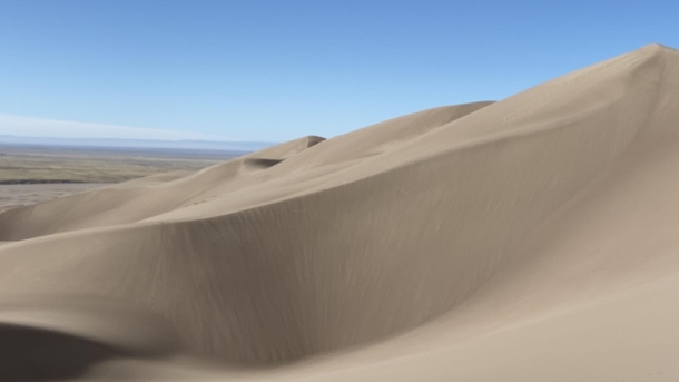 Majestic dunes in the Great Sand Dunes National Park CO
