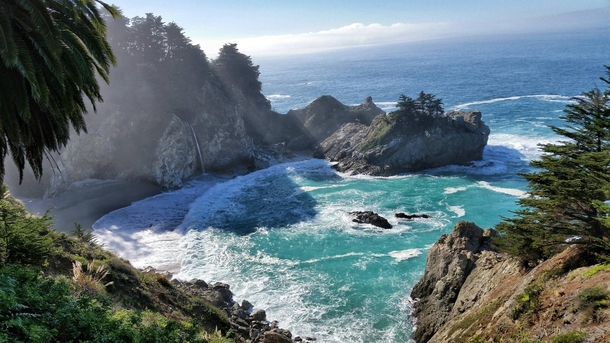 McWay Falls Julia Pfeiffer Burns State Park Big Sur California OC