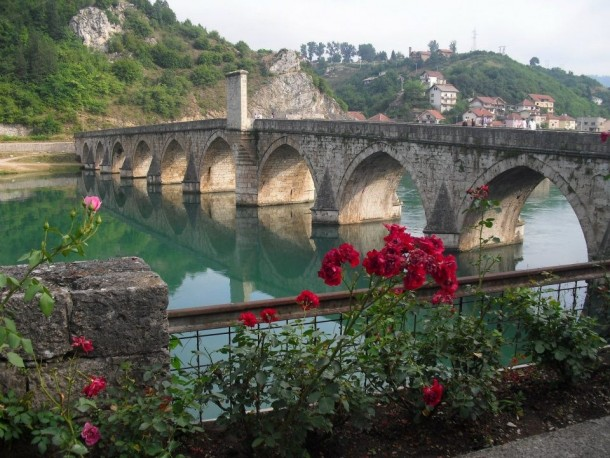 Mehmed Paa Sokolovi Bridge Viegrad Bosnia and Herzegovina