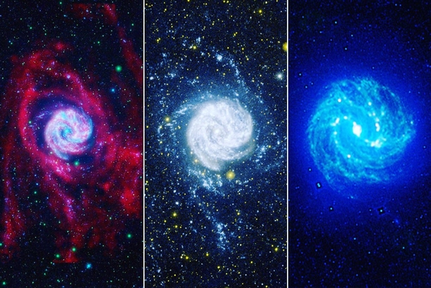 Messier  in  different colours