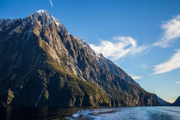 Milford Sound New Zealand is a truly mystical place
