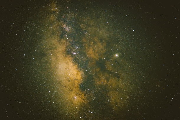 Milky Way In The Everglades